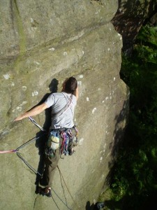 Dave starting the traverse on Lithos
