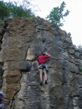 Rob on Right Unconquerable - will that flake fall off if I pull too hard?
