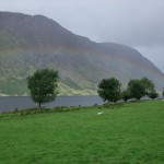 rainbow over Crummock Water