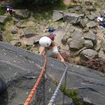 Brand new ropes on their fourth climb