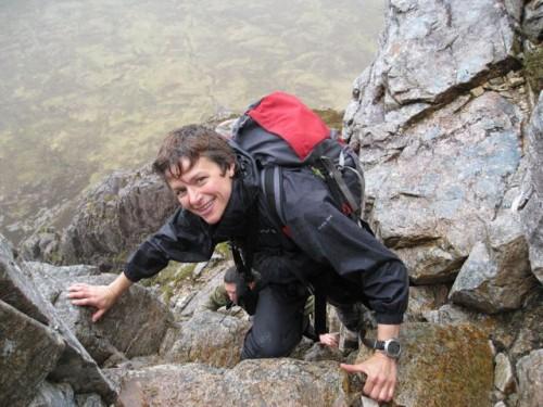 Peri enjoying Curved Ridge