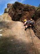 Will on Allan's Crack at Brimham