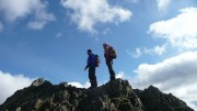 Rob and Ben on Helm Crag