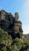 wild rock formations at Siurana