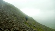 Clough Head in the rain