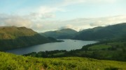 Evening light over Ullswater