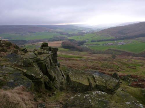 the 'Wain stones' and Bilsdale