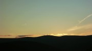 Sunset over Green Lowther
